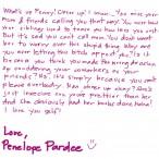 penelope pardee letter