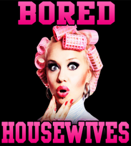 bored housewives - dining out