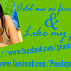 Add me as friend and Like my page on Facebook