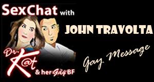 John Travolta Gay Message