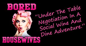 Under The Table Negotiation In A Social Wine And Dine Adventure